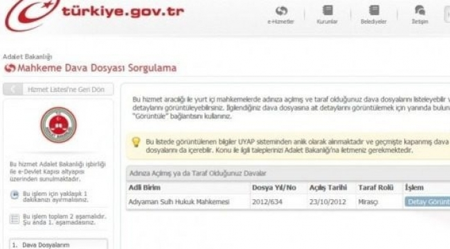 uyap kurum portal giris ekrani www