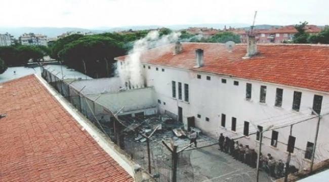 Adana E Tipi Cezaevinde yangın çıktı