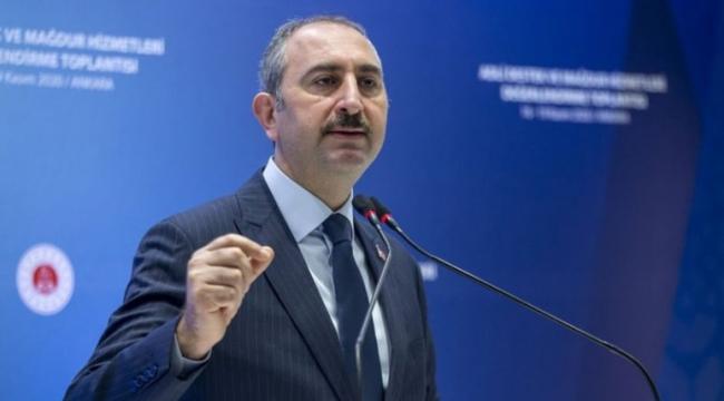 Abdulhamit Gül: veriler UYAP'a zamanında girilsin