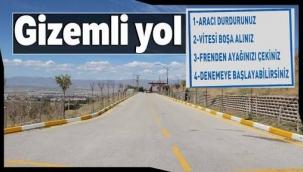 Erzurum'da bulunan gizemli yolun sırrı çözüldü