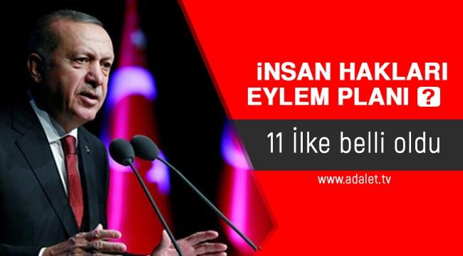 İnsan Hakları Eylem Planı'nın 11 ilkesi açıklandı