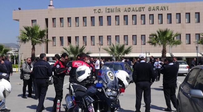 Adliye'de polisin elinden kaçan şahıs vurularak yakalandı