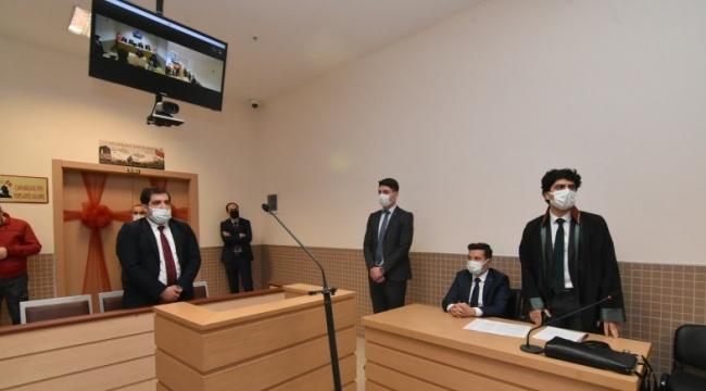 Hakim savcı adayları pratik eğitim alıyor