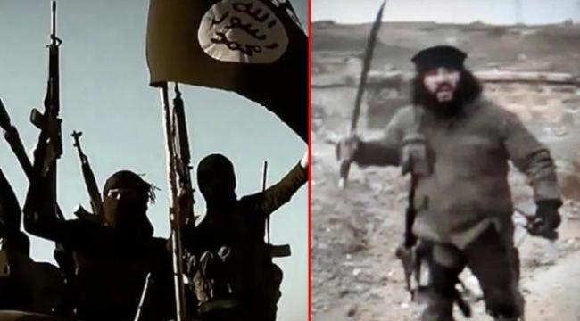 Elinde kılıcıyla infaz yapan terörist yakalandı