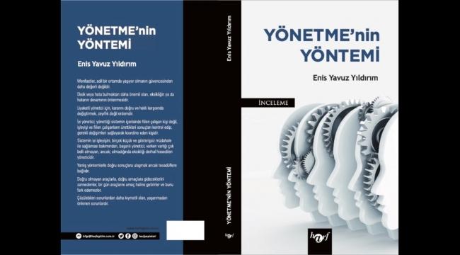 Eski CTE Genel Müdürü Enis Yavuz Yıldırım kitap yazdı