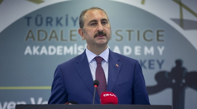 Adalet Bakanı: Yeni yasal düzenleme geliyor