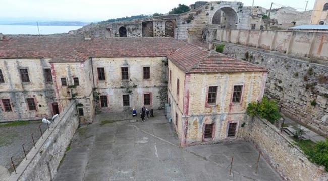 Eski Sinop Cezaevi kültür ve turizm için restore ediliyor
