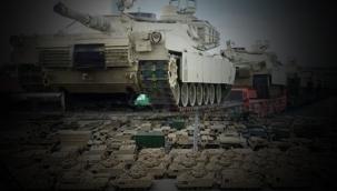 ABD, Türkiye sınırına tank ve helikopter yığıyor