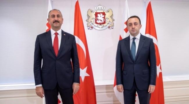 Abdulhamit Gül, Gürcistan'da ortak mutabakat imzaladı