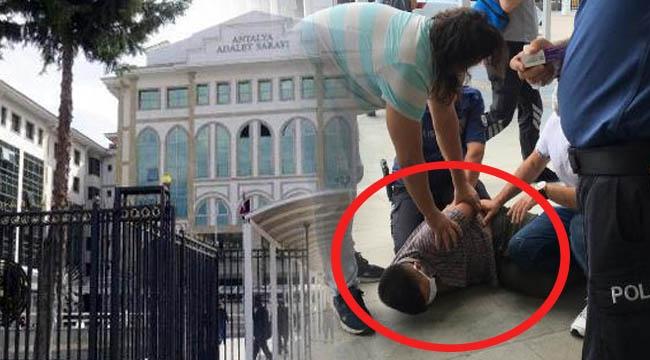 Adliye'den kaçan hırsızı vatandaş yakalattı