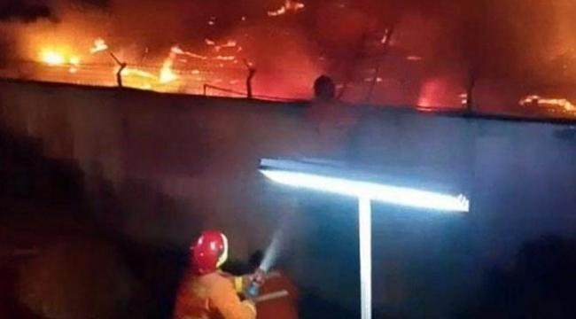 Cezaevinde yangın: 41 ölü
