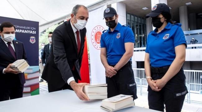 Cezaevlerine 231 bin kitap bağışı yapıldı