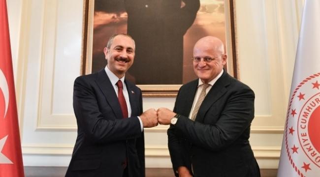 Hollanda Adalet ve Güvenlik Bakanı Ferdinand Grapperhaus Ankara'da