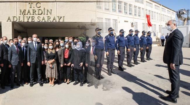 Adalet Bakanı Mardin'de cezaevi ve adliyeyi ziyaret etti