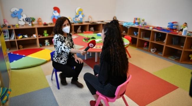 Cezaevi anne-çocuk ünitesi uygulaması